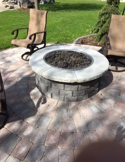 Gas Install for Firepit
